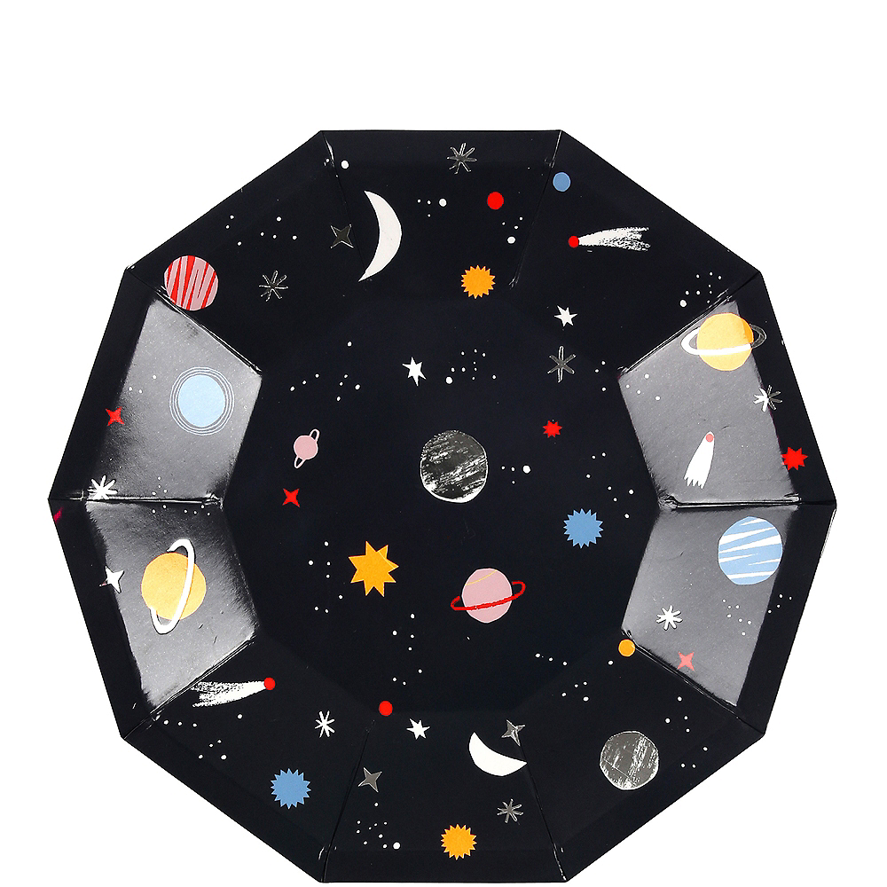 Into Space Dessert Plates 8ct Image #1