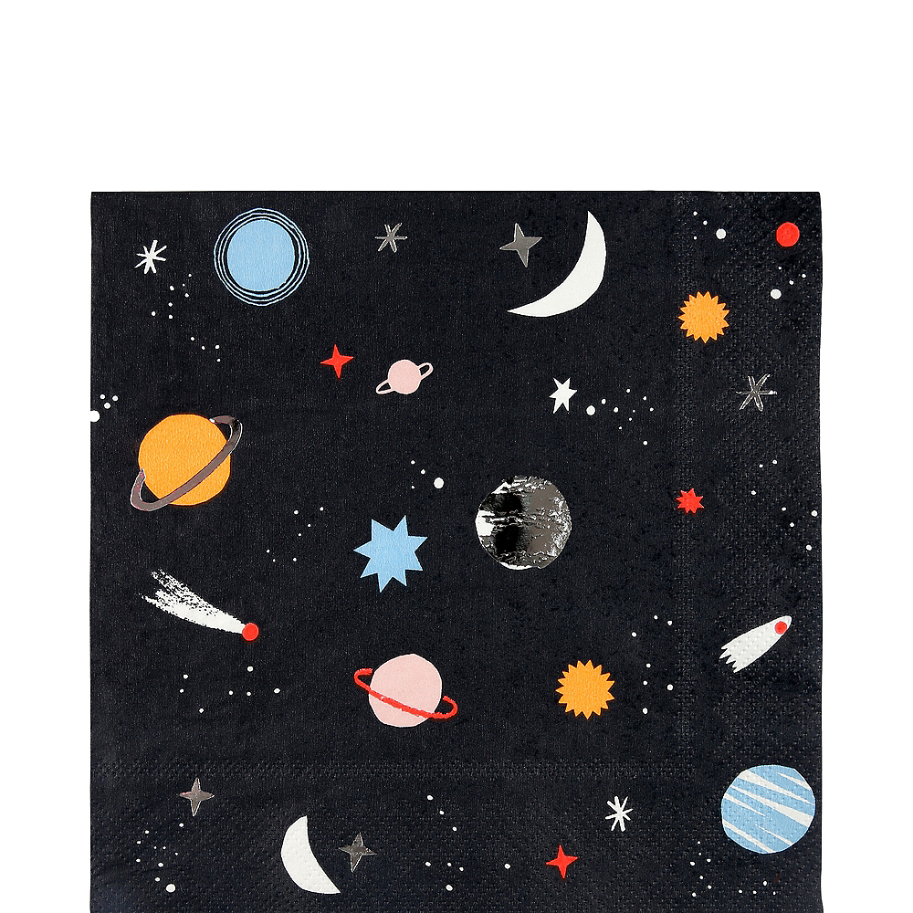 Into Space Lunch Napkins 16ct Image #1