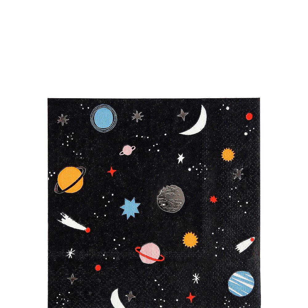 Into Space Beverage Napkins 16ct Image #1