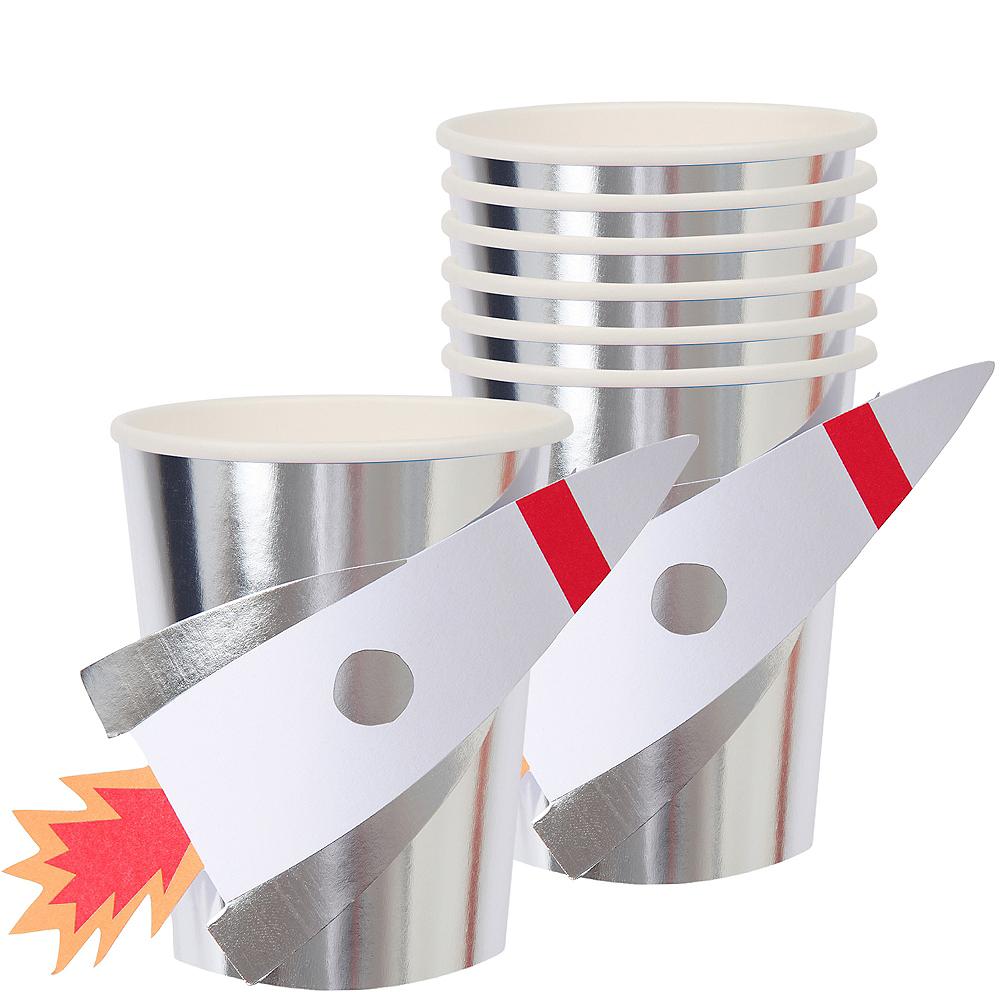 Metallic Rocket Cups 8ct Image #1