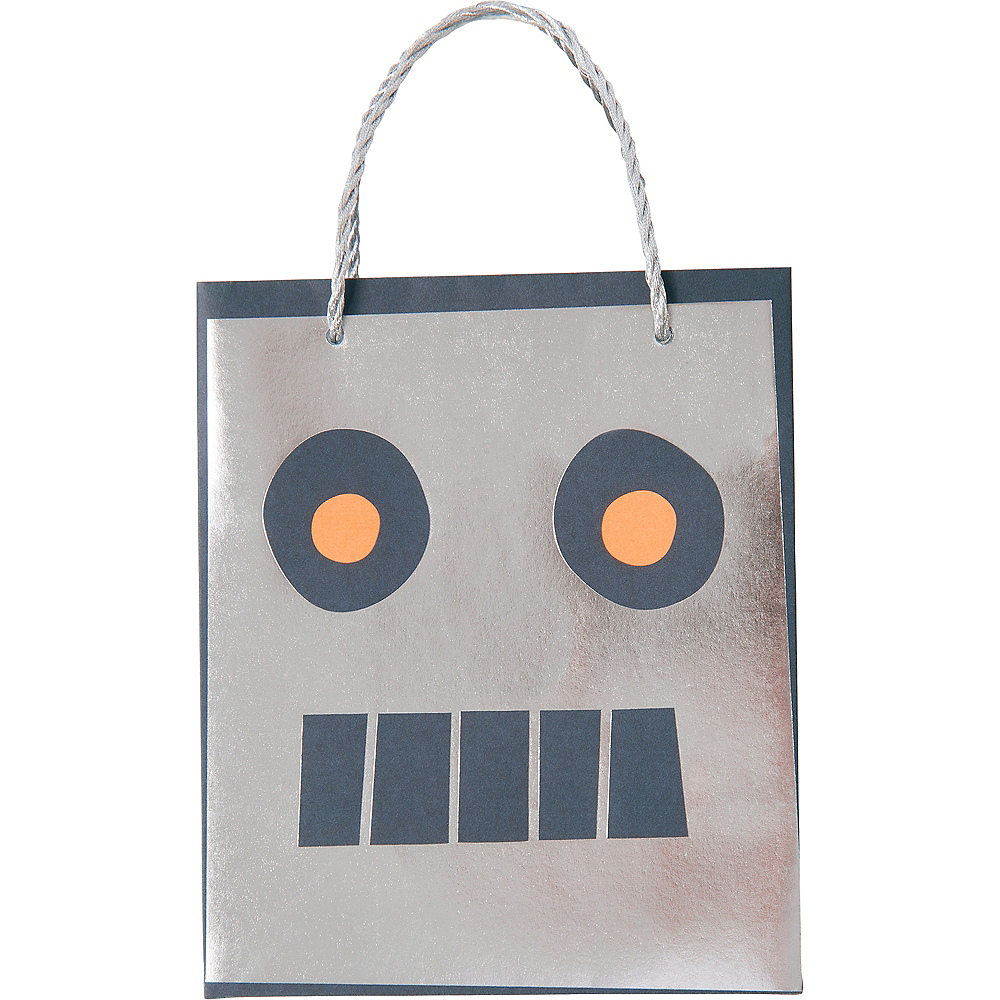 Nav Item for Robot Gift Bags 8ct Image #1