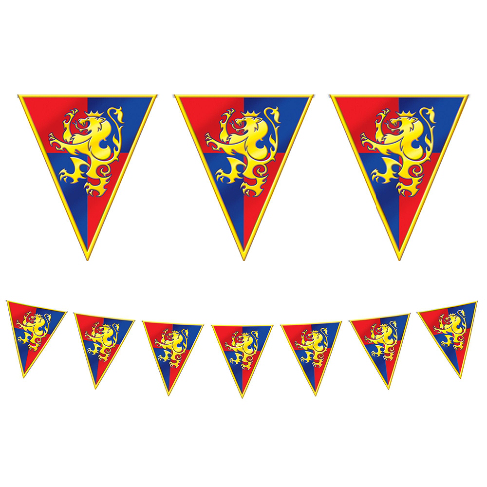 Medieval Crest Party Kit for 24 Guests Image #8
