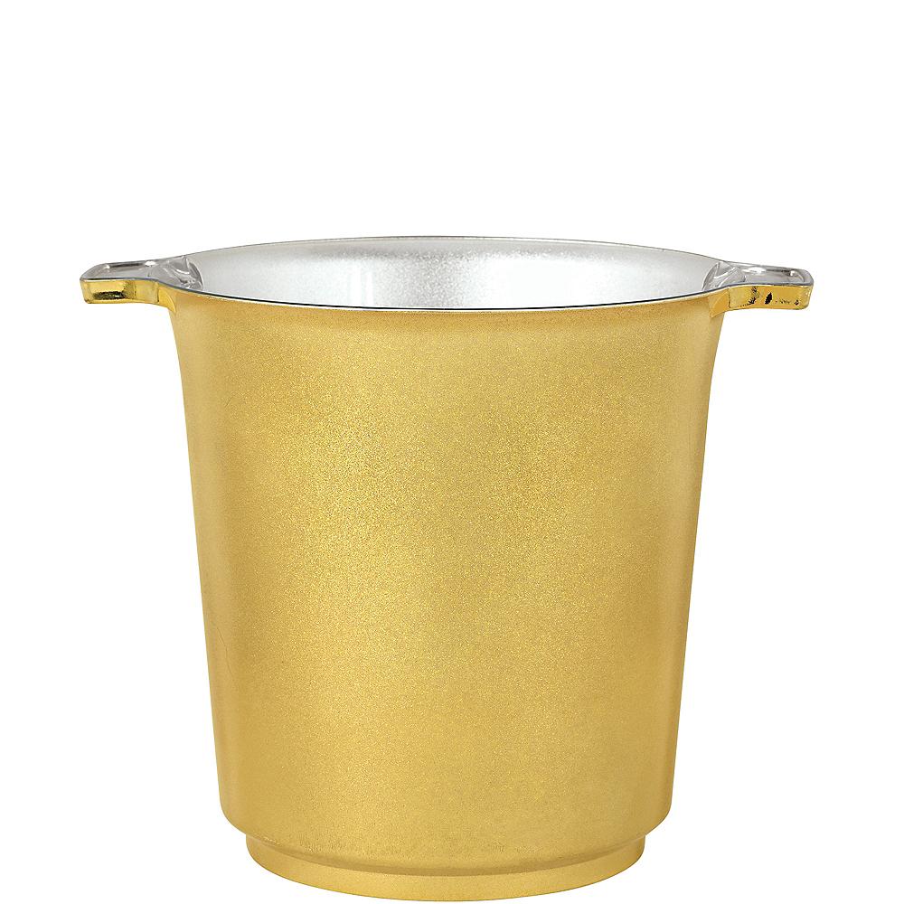 Metallic Gold Ice Bucket Image #1