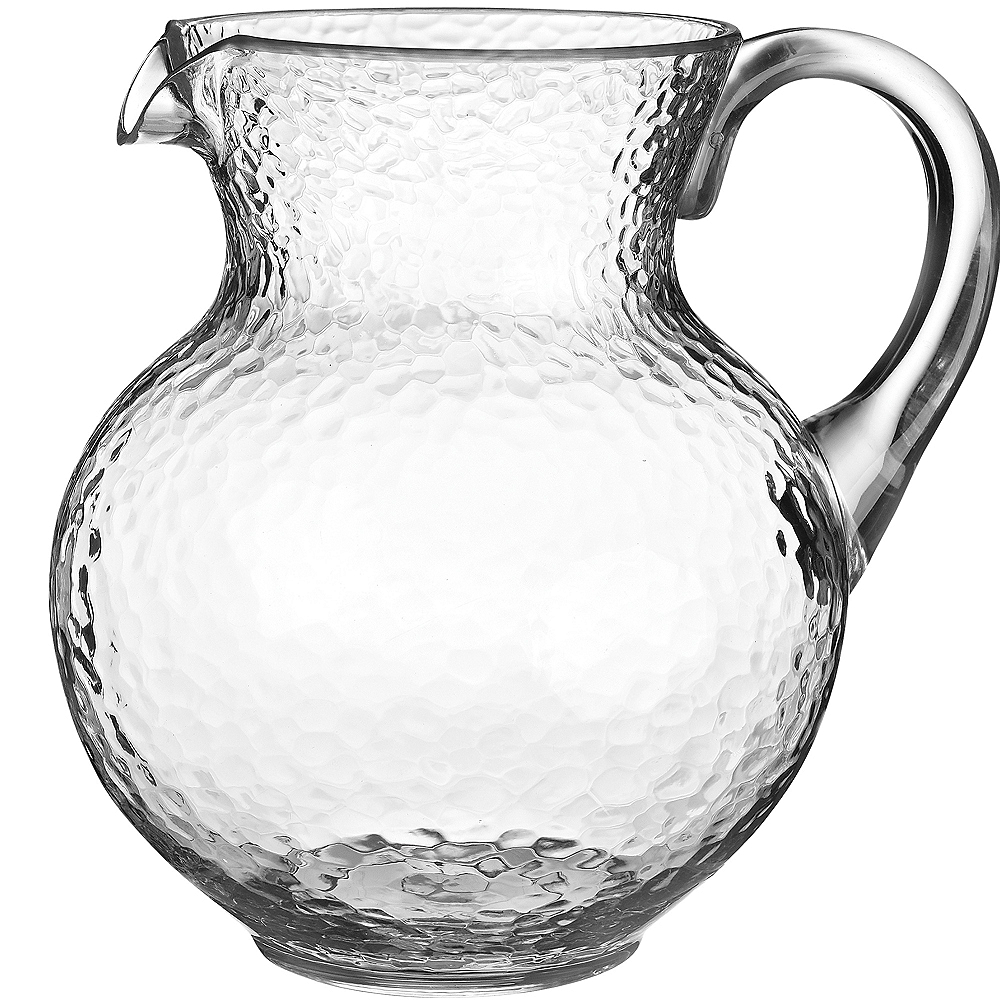 Clear Hammered Margarita Pitcher Image #1