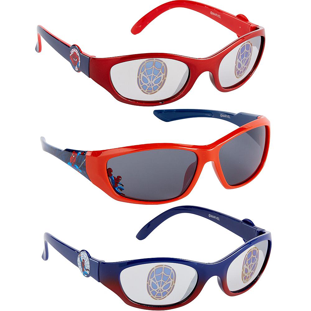 Child Spider-Man Sunglasses Image #1