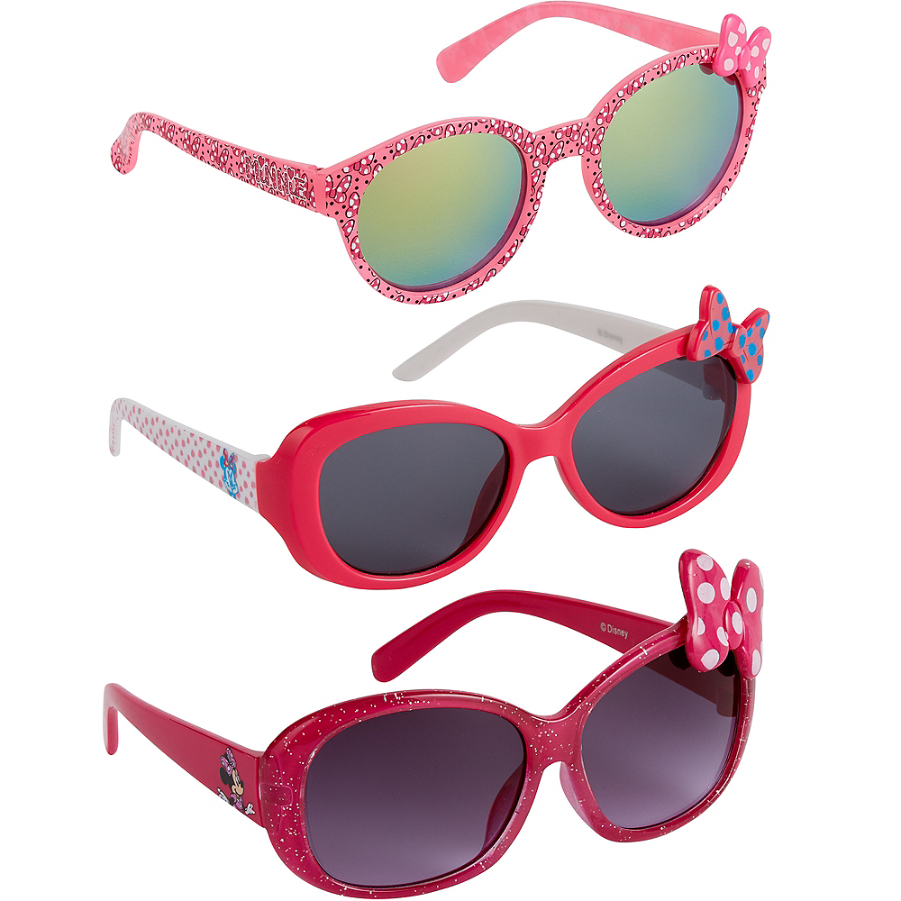 Child Minnie Mouse Bow Sunglasses Image #1