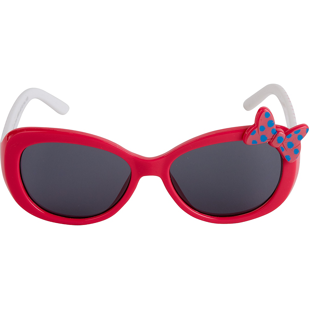 Child Minnie Mouse Bow Sunglasses Image #3