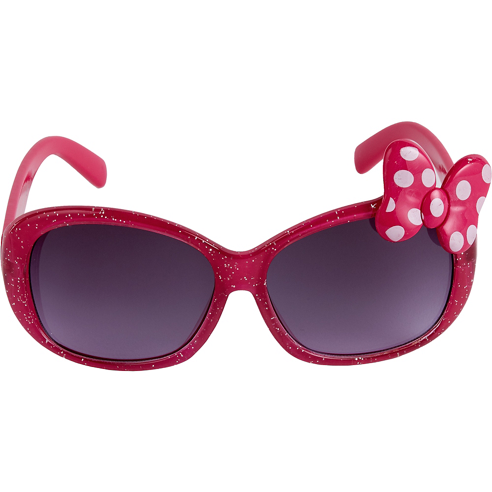 Child Minnie Mouse Bow Sunglasses Image #4