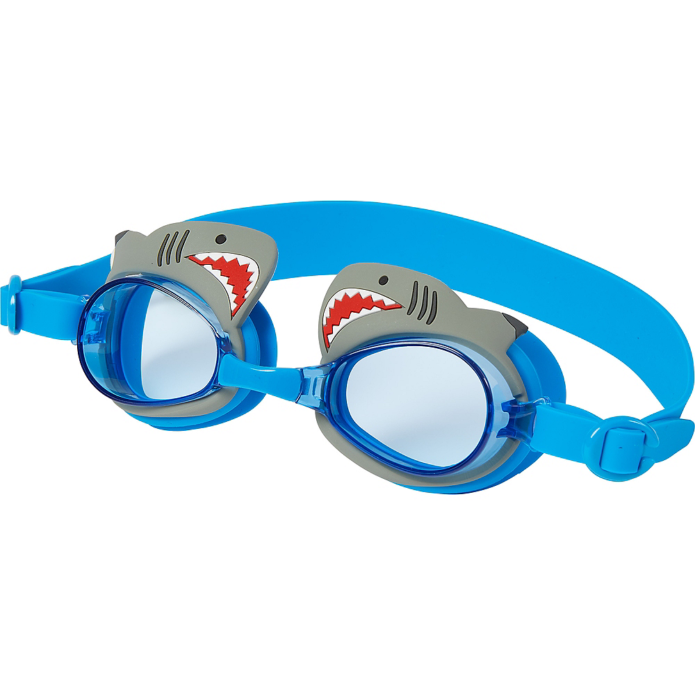 Child Shark Swimming Goggles Image #1