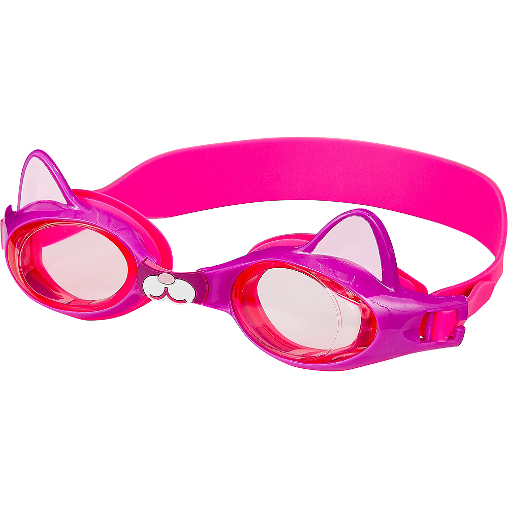 Nav Item for Child Cat Swimming Goggles Image #1