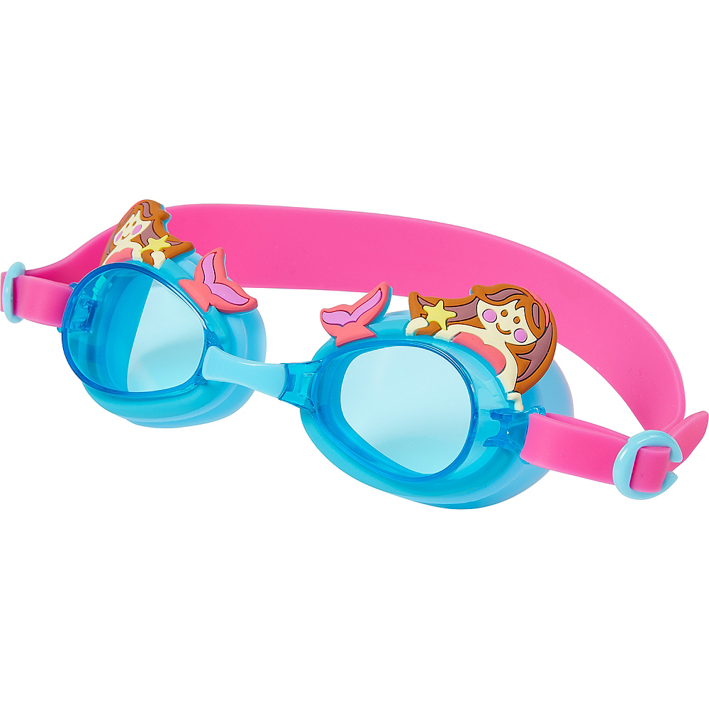 Child Mermaid Swimming Goggles Image #1