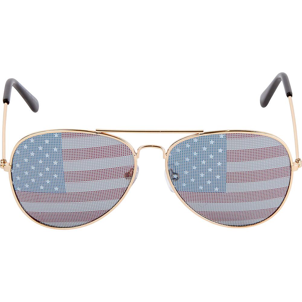 American Flag Sunglasses Image #1