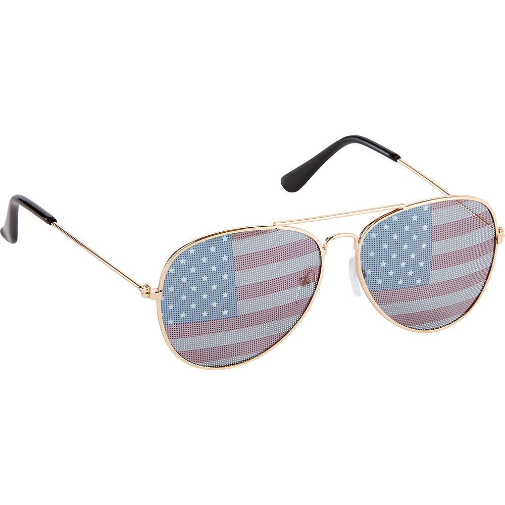 American Flag Sunglasses Image #2