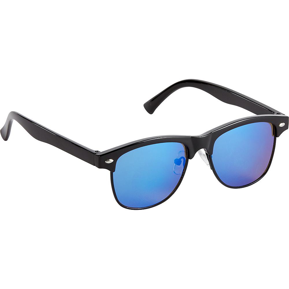 Black & Blue Sunglasses Image #1