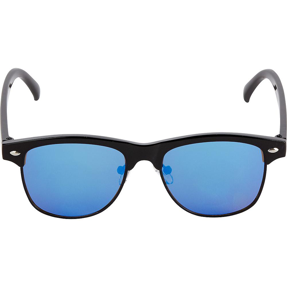 Black & Blue Sunglasses Image #2