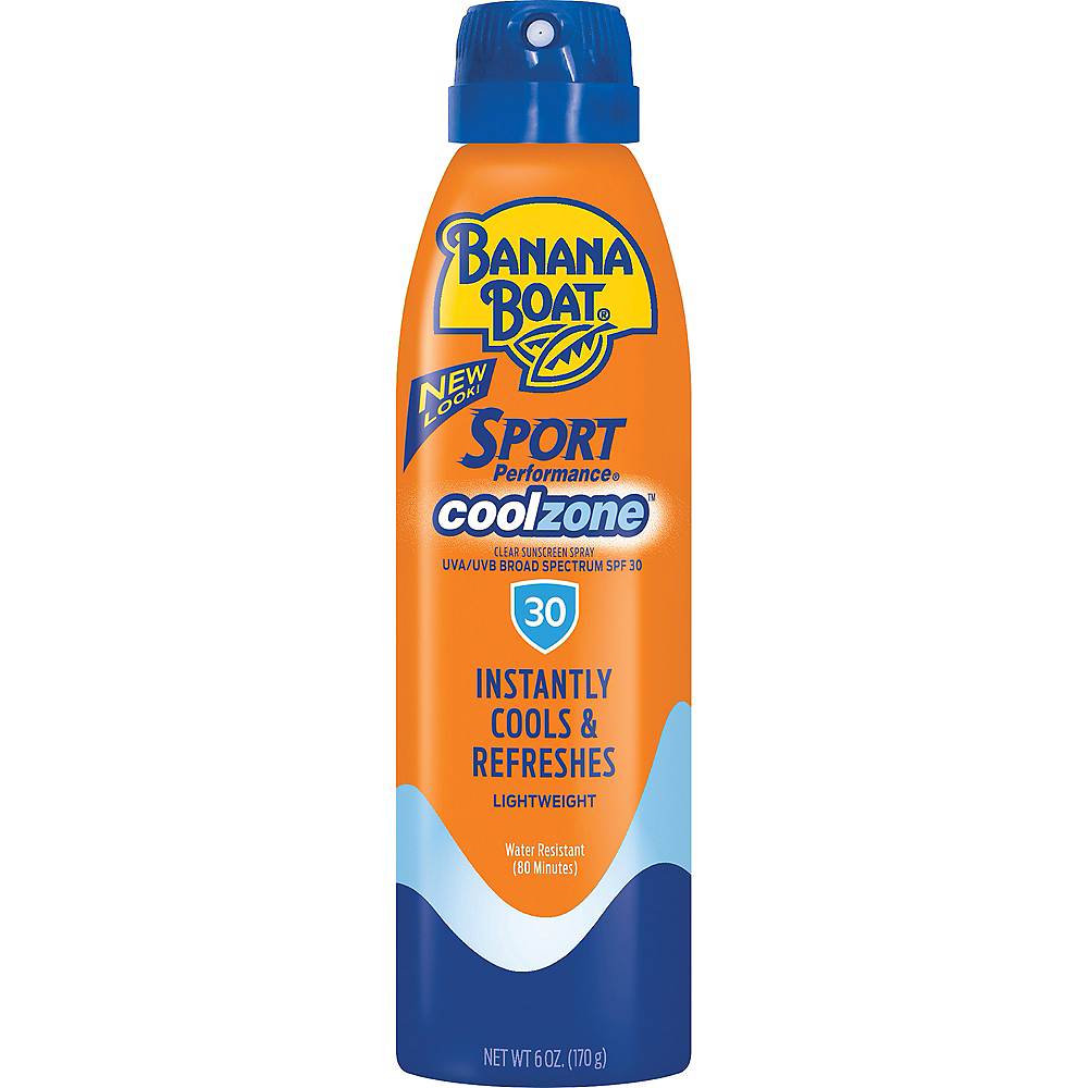Banana Boat Sport Performance Cool Zone Spray Sunscreen SPF 30 Image #1