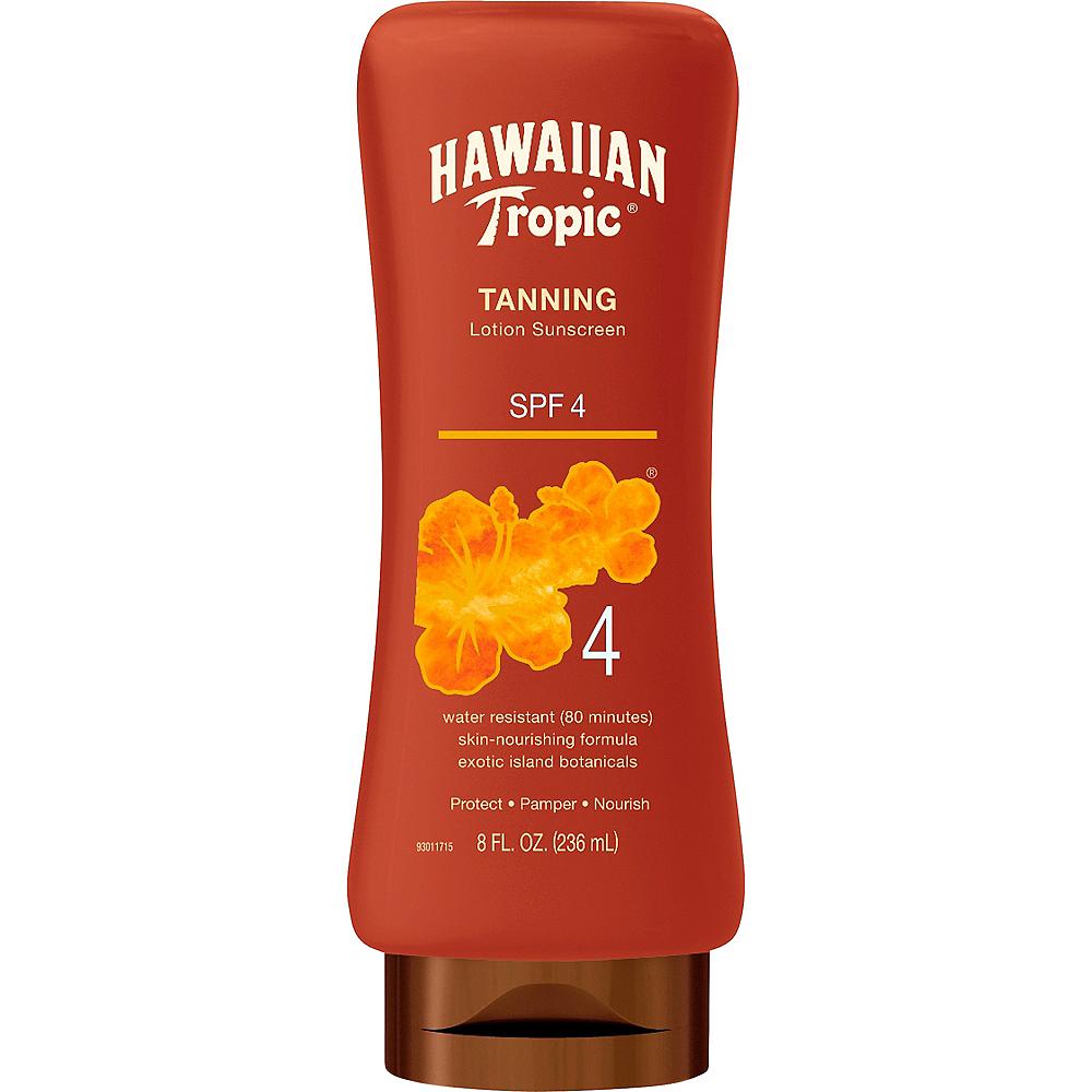 Hawaiian Tropic Tanning Lotion Sunscreen SPF 4 Image #1