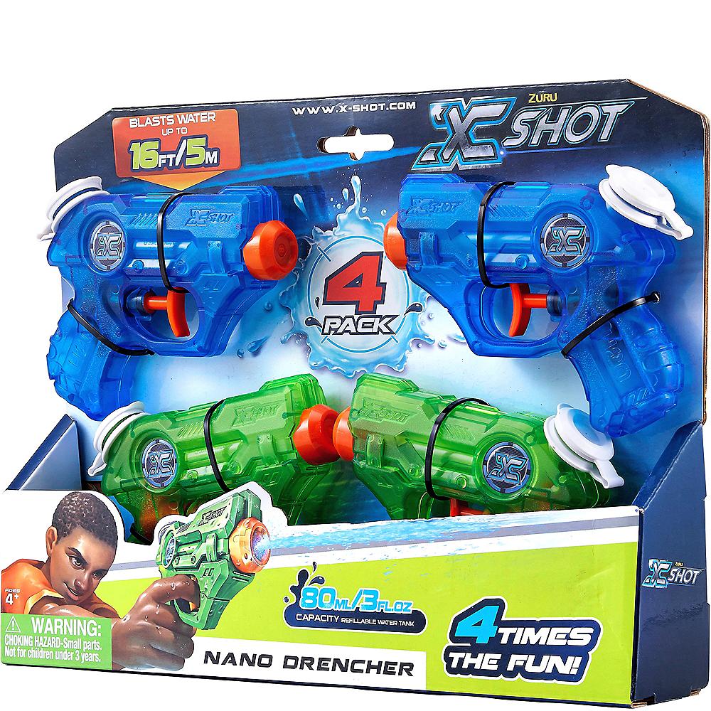 Nano Drencher Water Blasters 4ct Image #4