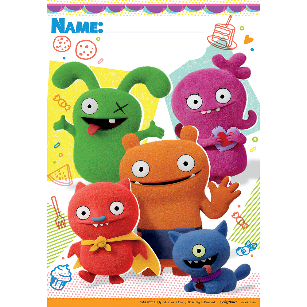 Nav Item for UglyDolls Favor Bags 8ct Image #1