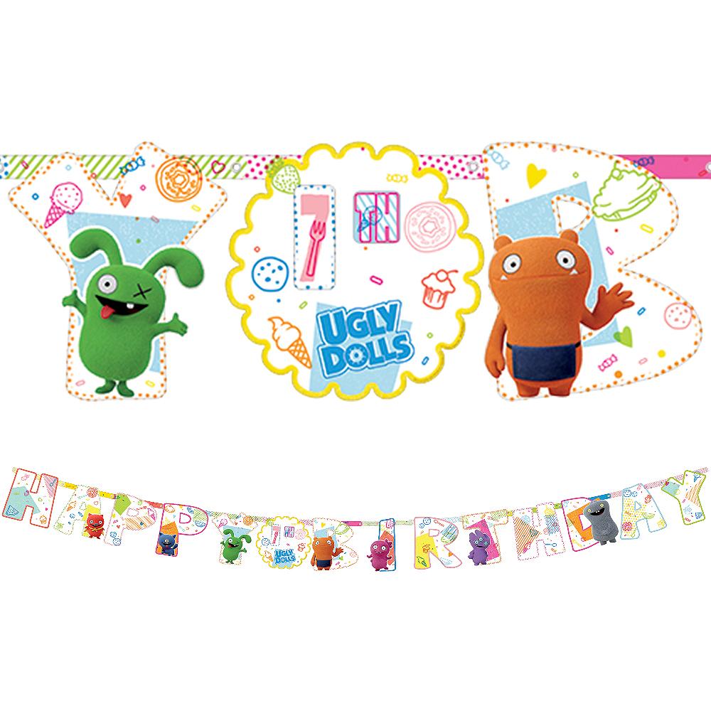 UglyDolls Birthday Banner Kit Image #1