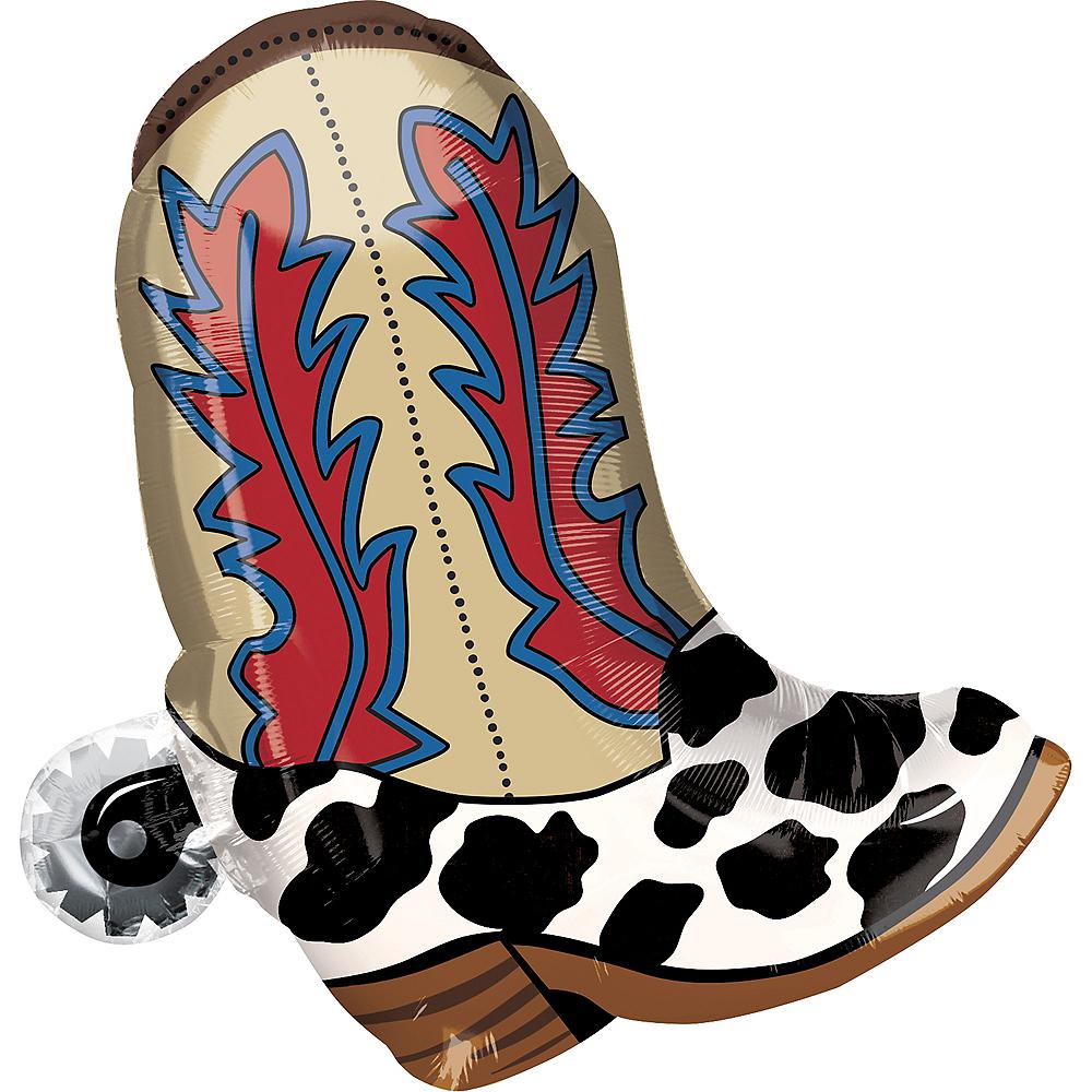 Cowboy Boot Balloon Image #1