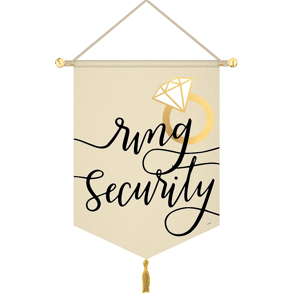 Ring Security Canvas Sign Image #1