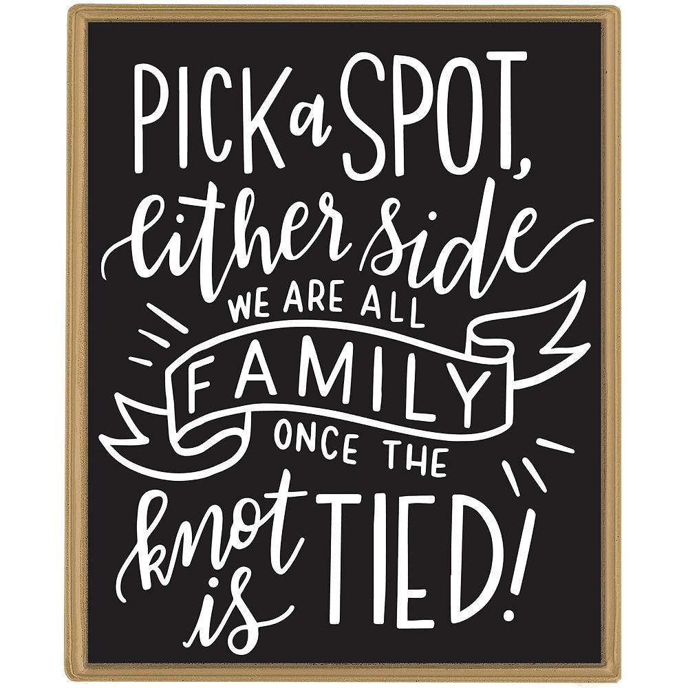Customizable Chalkboard Easel Sign 5pc Image #1