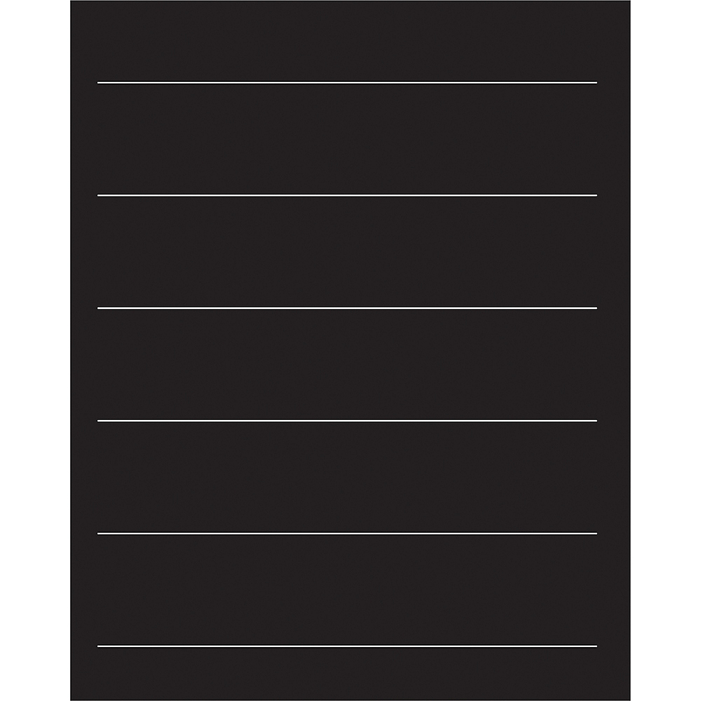 Customizable Chalkboard Easel Sign 5pc Image #3