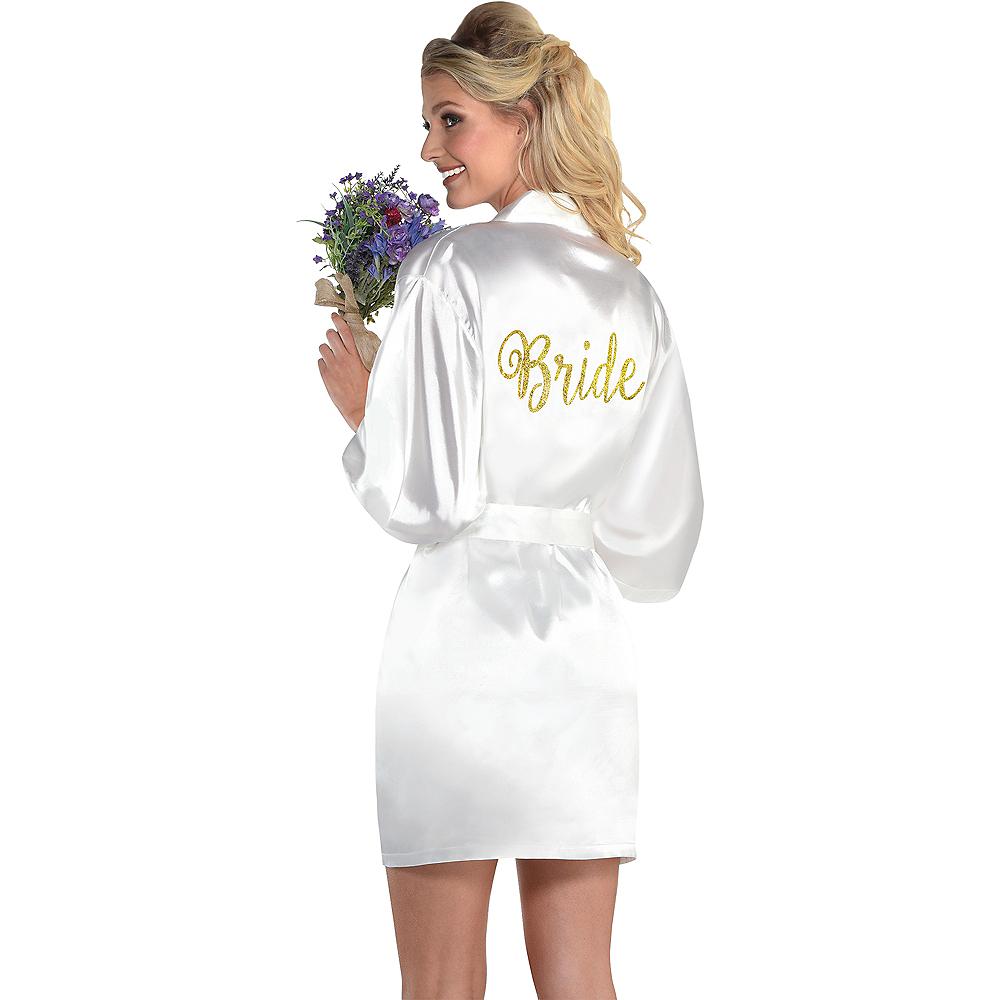 Gold & White Bride Robe Image #1