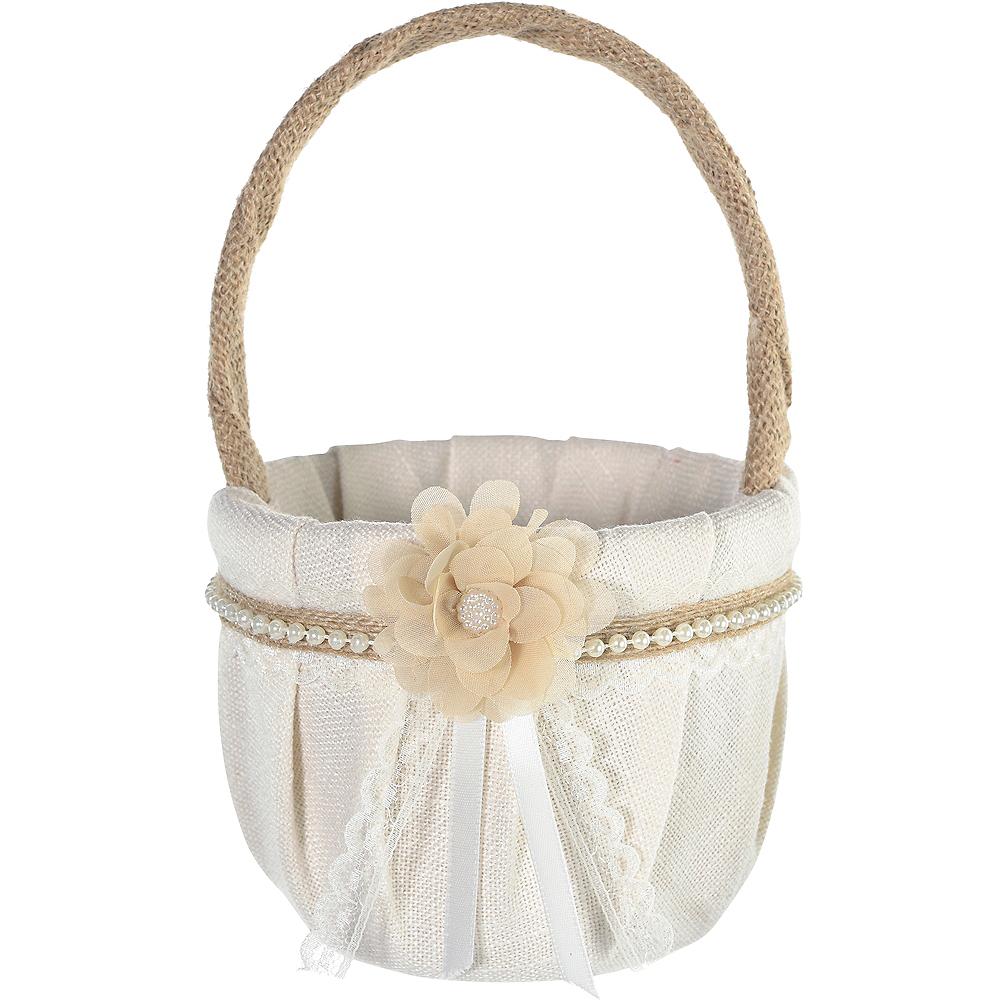 Rustic Flower Girl Basket Image #1