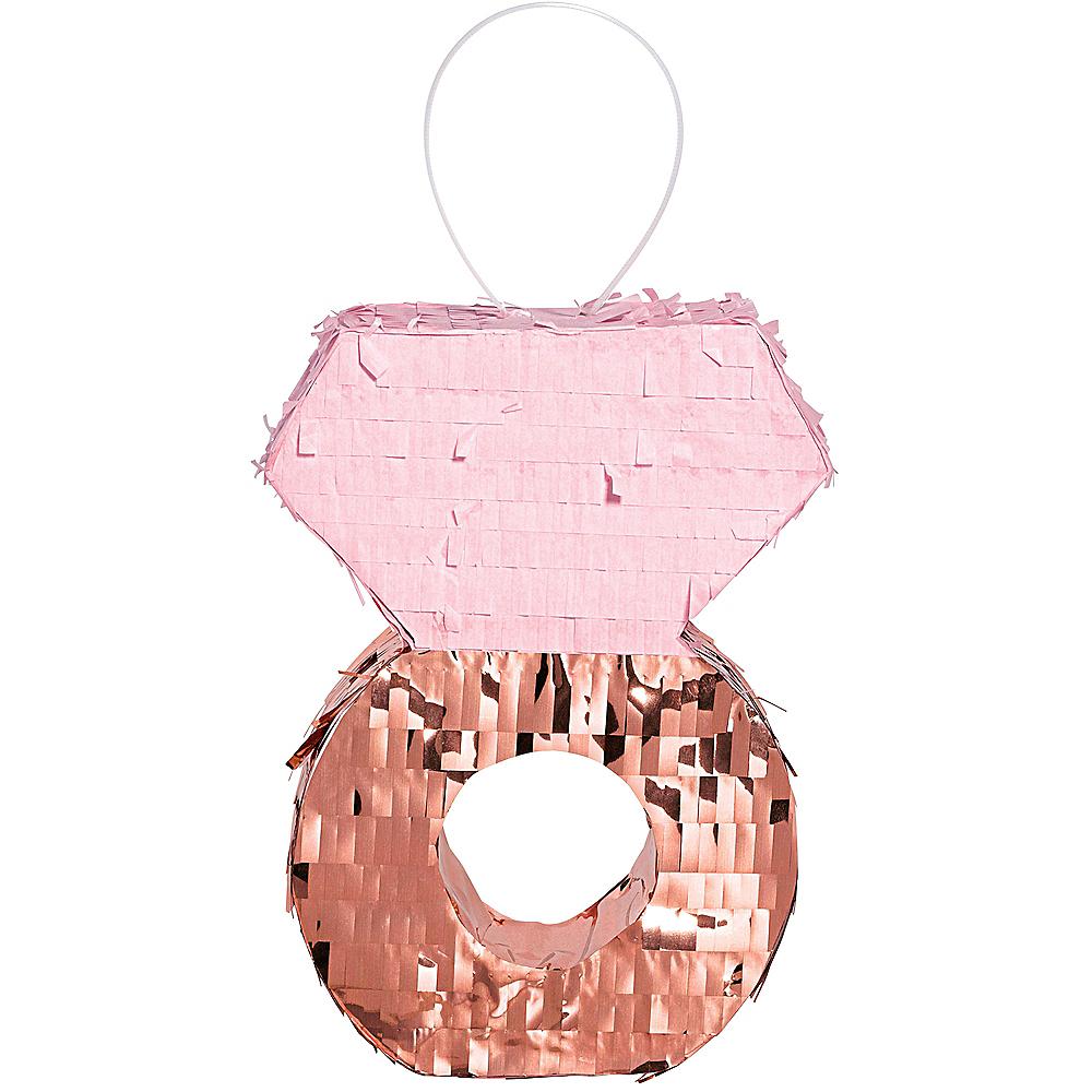 Mini Blush & Rose Gold Diamond Pinata Image #1