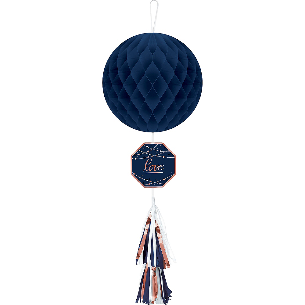 Nav Item for Navy Love Honeycomb Decoration with Tail Image #1