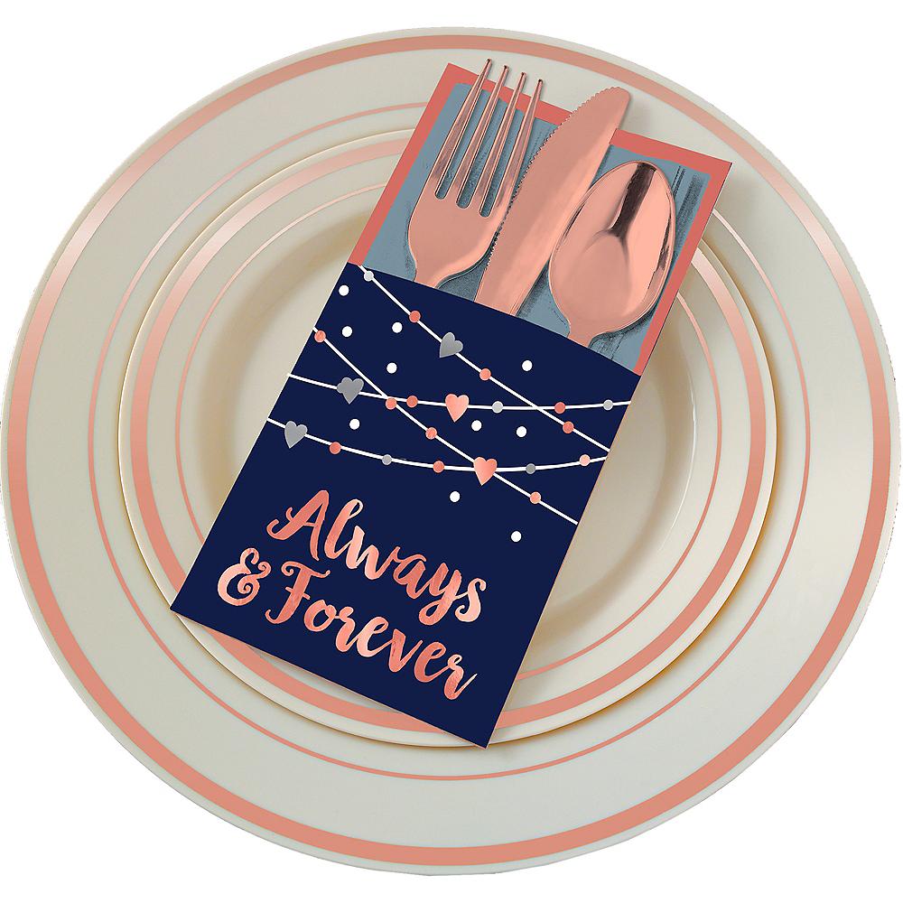 Navy Bride Cutlery Holders 12ct Image #1
