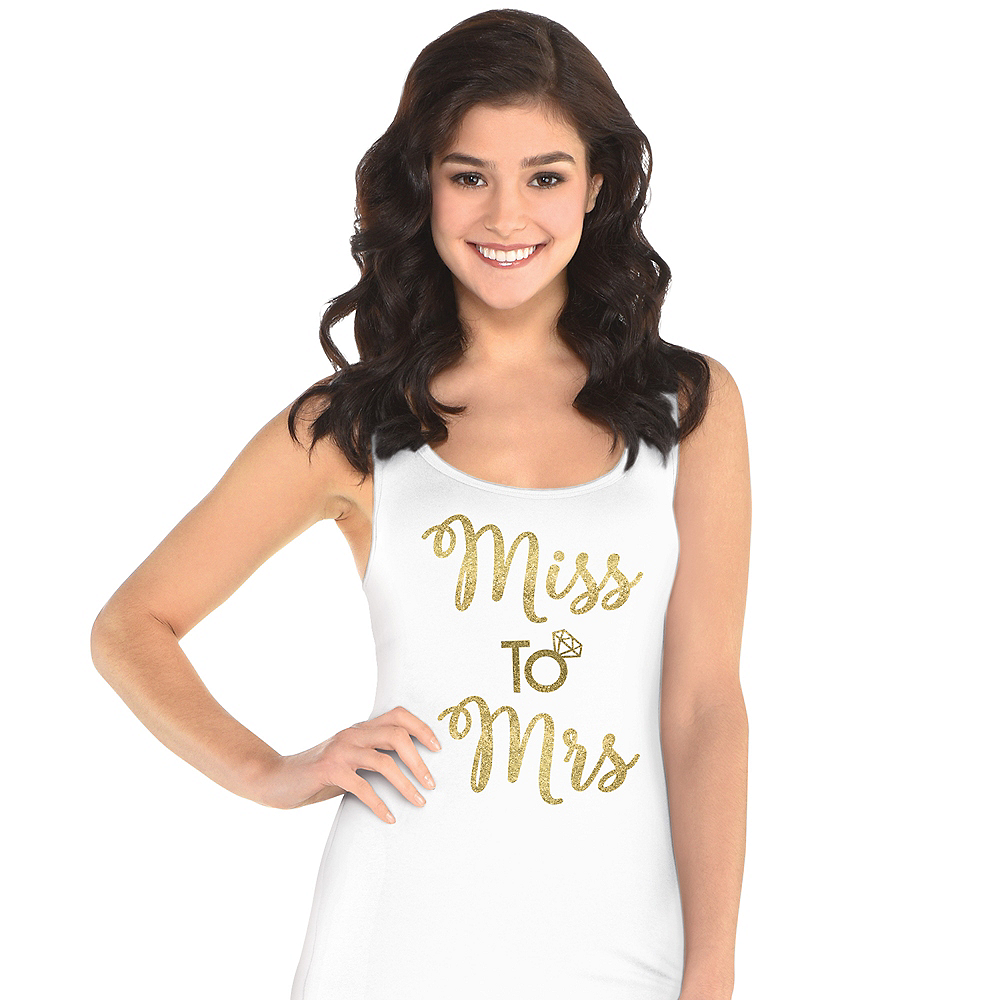 Nav Item for Miss To Mrs. Tank Top Image #1