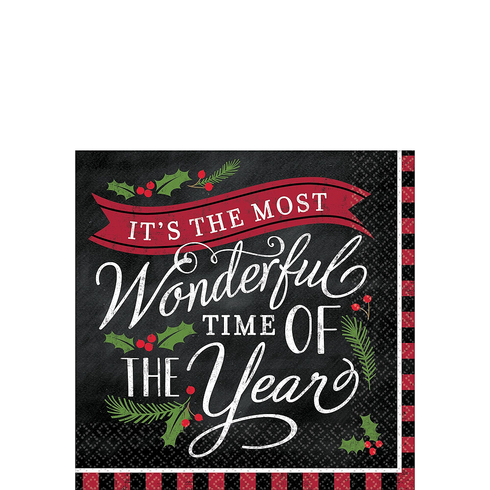 Most Wonderful Time Party Kit for 54 Guests Image #4