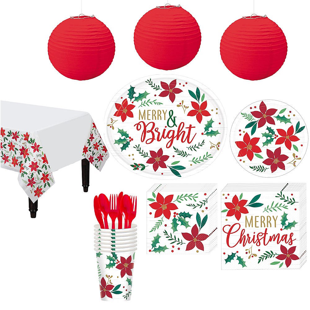 Christmas Wishes Party Kit for 16 Guests Image #1