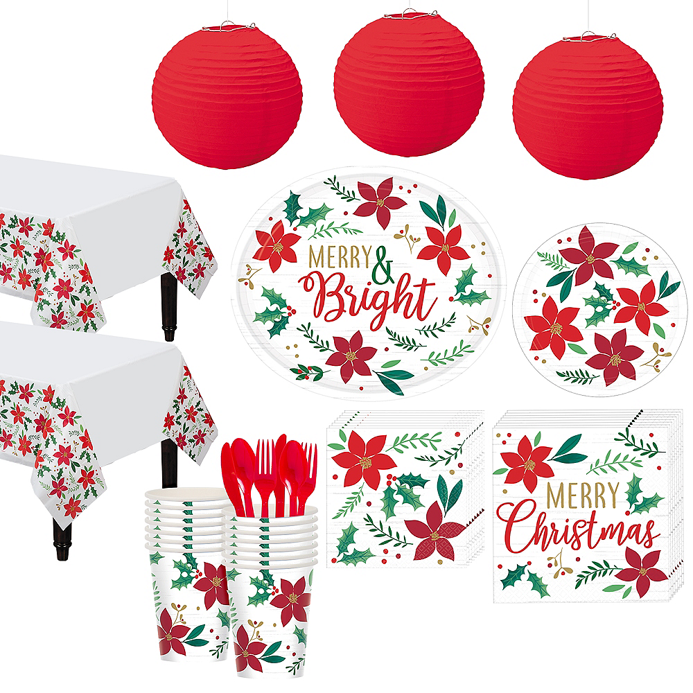 Christmas Wishes Party Kit for 32 Guests Image #1