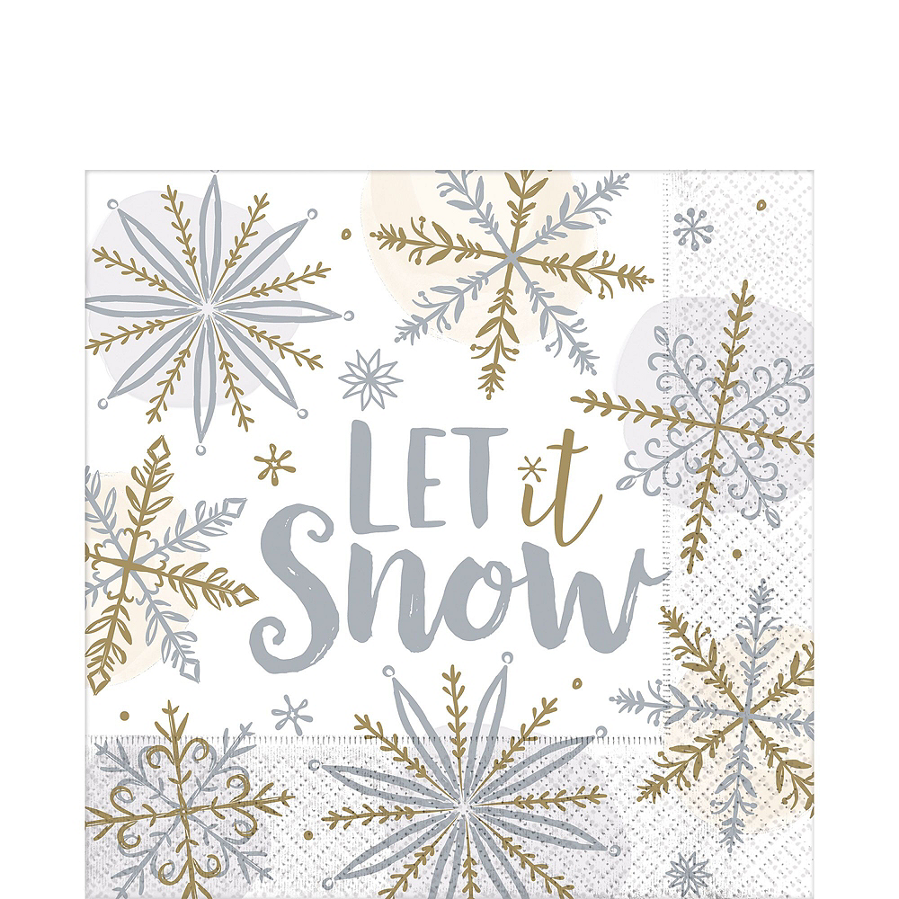 Sparkling Snowflake Party Kit for 32 Guests Image #4