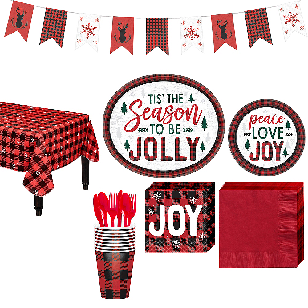 Cozy Holiday Party Kit for 16 Guests Image #1