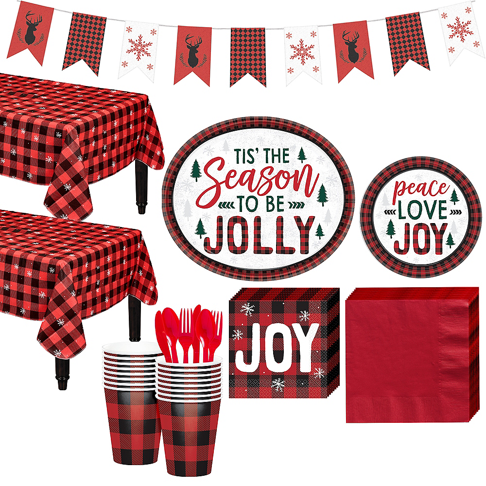 Cozy Holiday Party Kit for 32 Guests Image #1