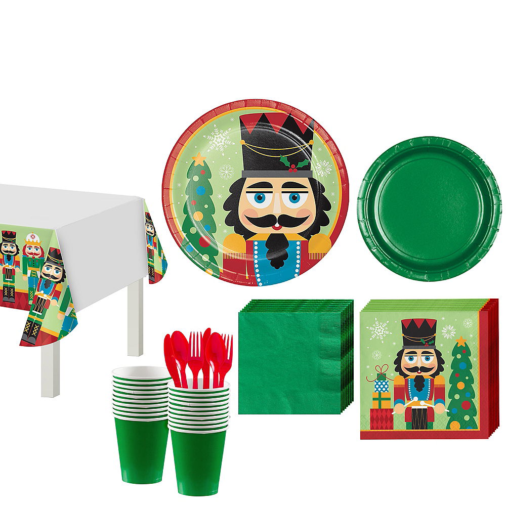 Nutcracker Tableware Kit for 16 Guests Image #1