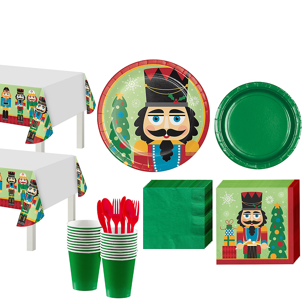 Nutcracker Tableware Kit for 32 Guests Image #1