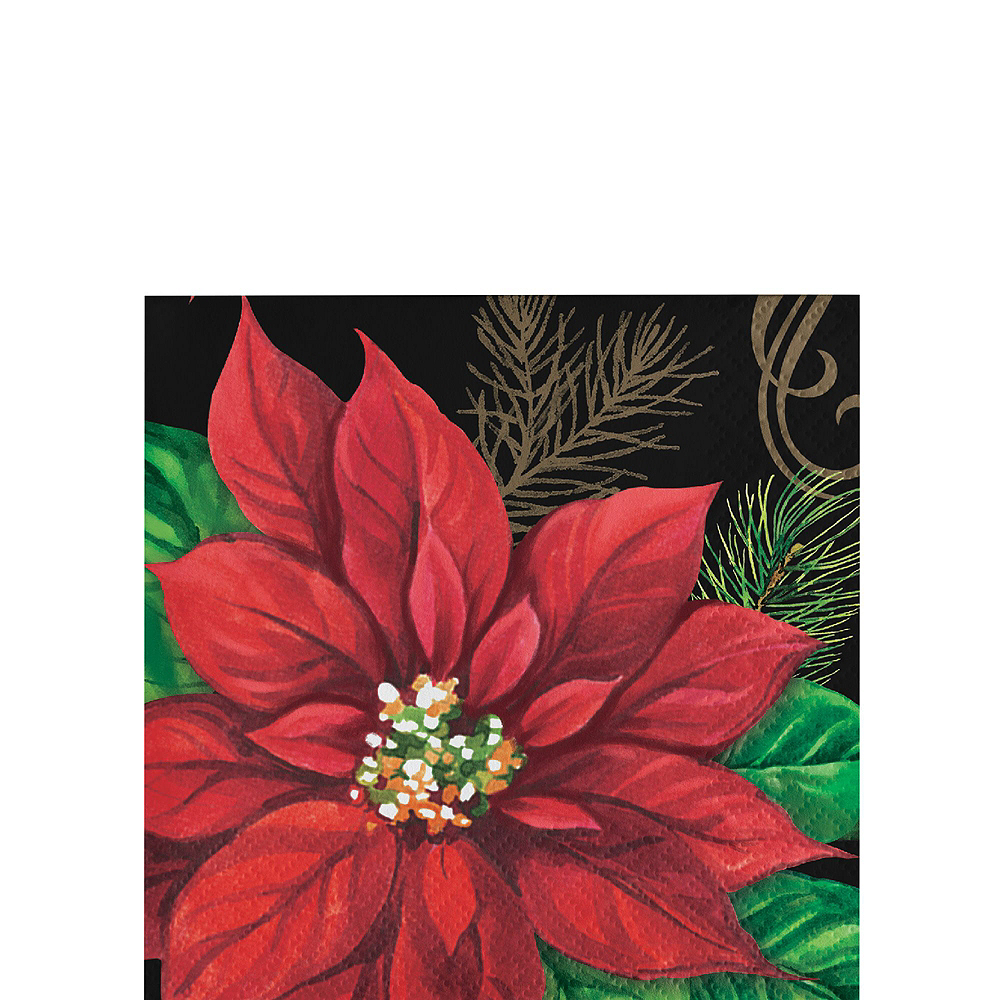 Posh Poinsettia Tableware Kit for 16 Guests Image #8