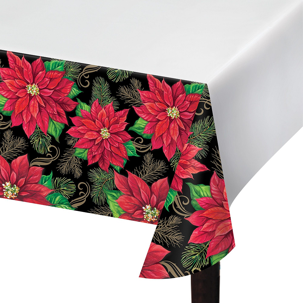 Posh Poinsettia Tableware Kit for 32 Guests Image #4