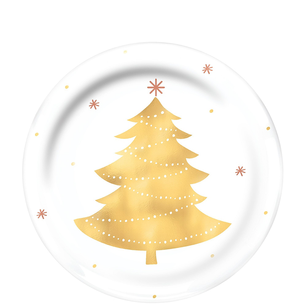 Metallic Gold Holiday Appetizer Kit for 16 Image #6