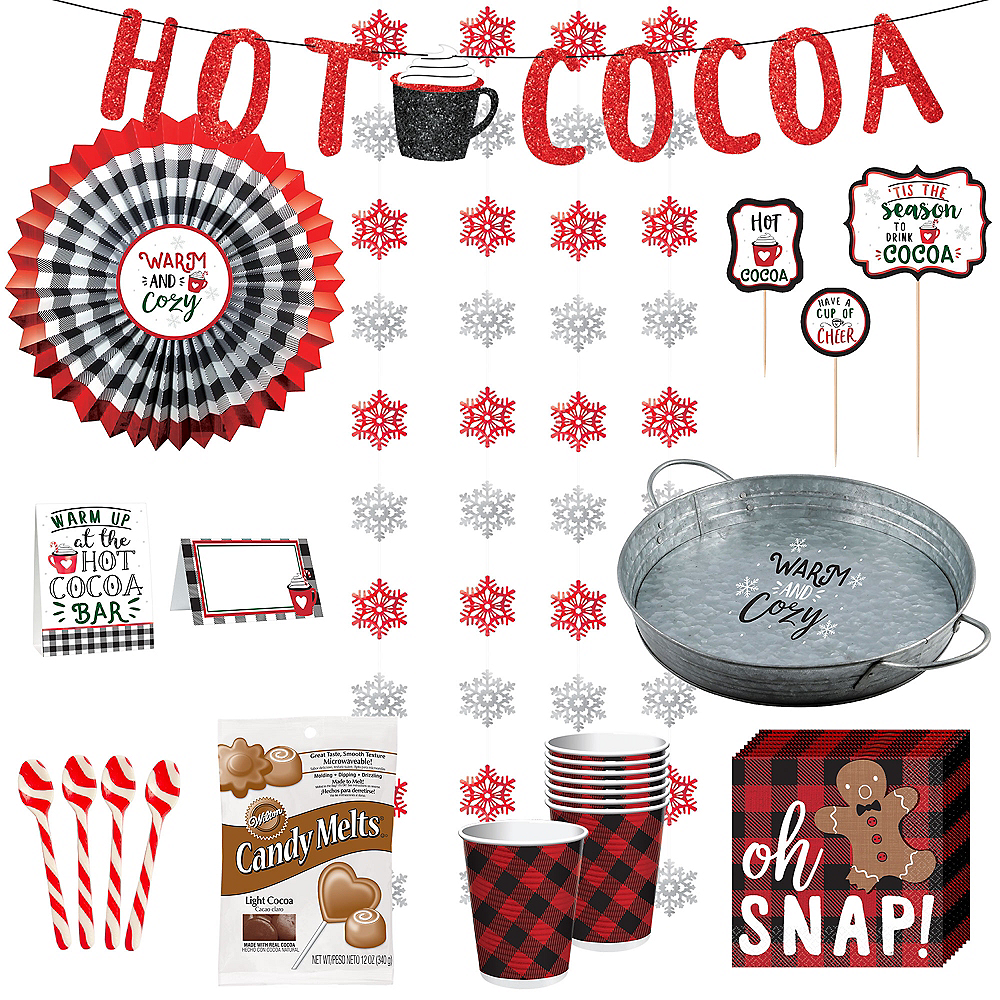 Super Crazy Coco Beverage Party Kit for 8 Image #1