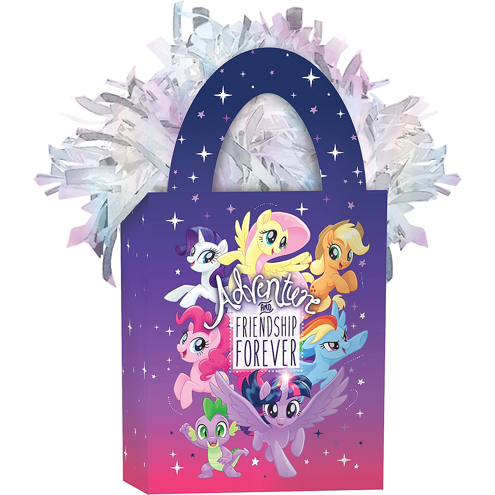 Nav Item for Friendship Adventure My Little Pony Balloon Weight Image #1