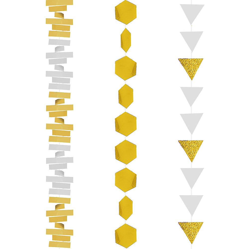 Gold Layered Garland 3pc Image #2