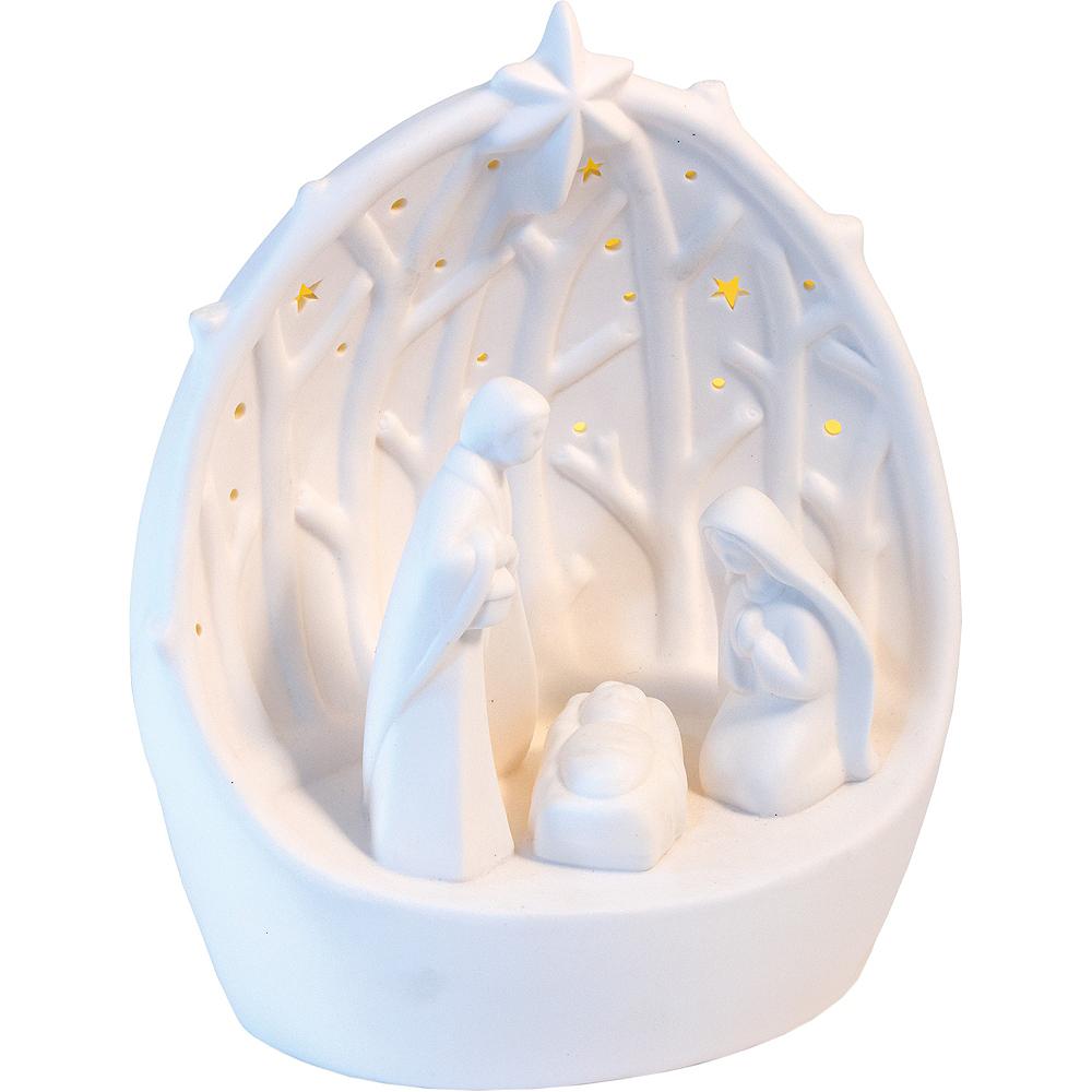 Light-Up LED Nativity Scene Decoration Image #1