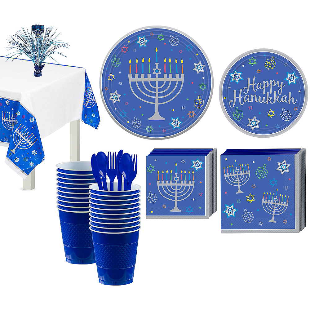 Eight Happy Nights Tableware Kit for 18 Guests Image #1